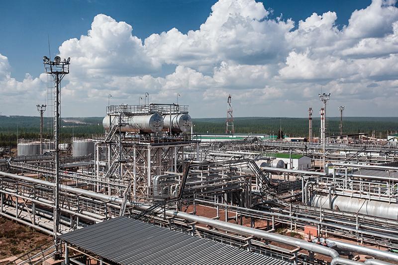Пусковой комплекс установки по подготовке нефти Ярактинского нефтегазоконденсатного месторождения, крупнейшего в активах ИНК