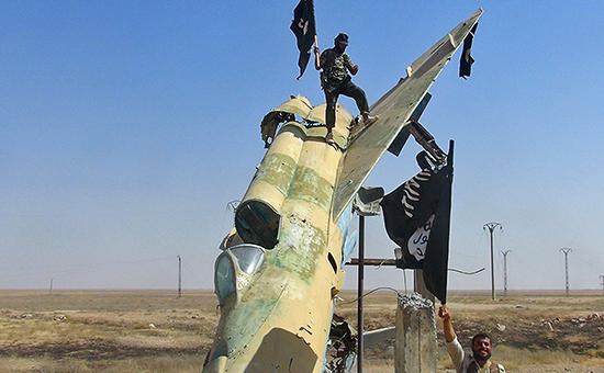 Сторонники ИГИЛ в Сирии