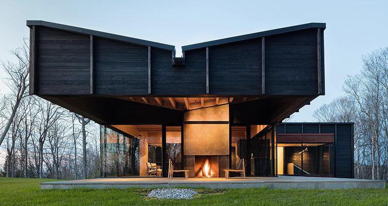 Номинация «Спорт иотдых»:    Название: речной дом Место: Мичиган Архитекторы: Chia Architecture