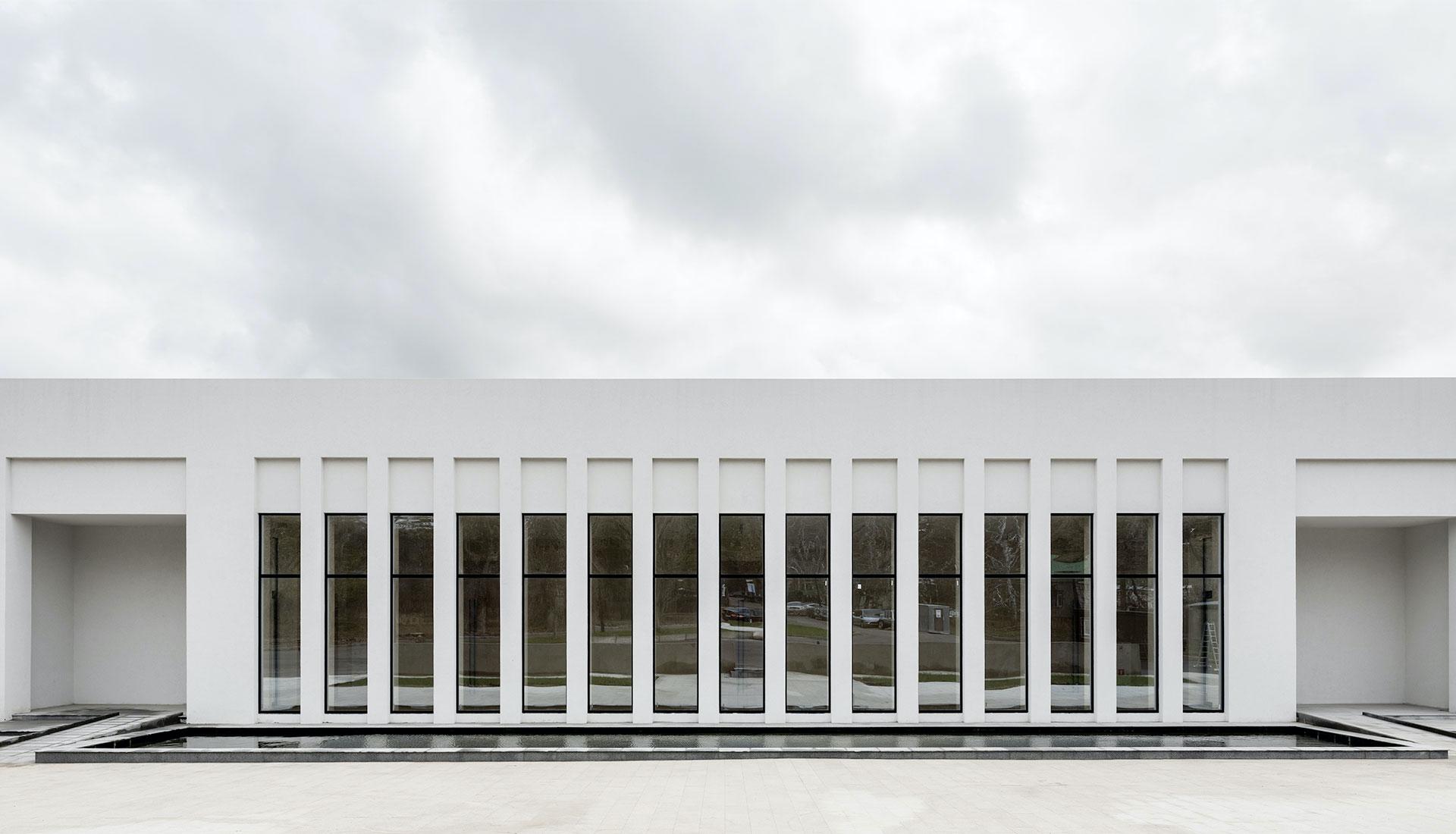 Здание крематория в Воронеже