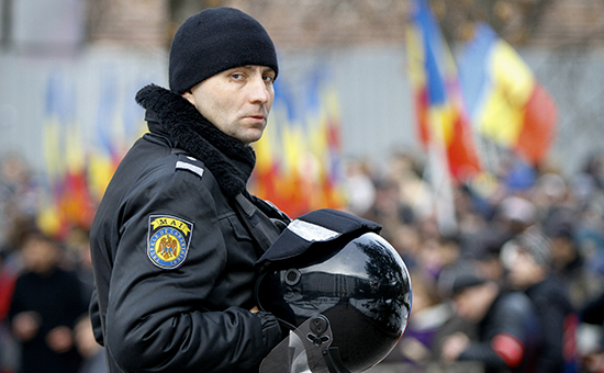 Акция протеста вКишиневе стребованием проведения досрочных парламентских выборов, 16 января 2016 года