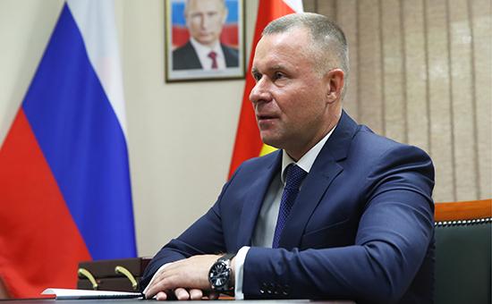 Временно исполняющий обязанности губернатора Калининградской области Евгений Зиничев
