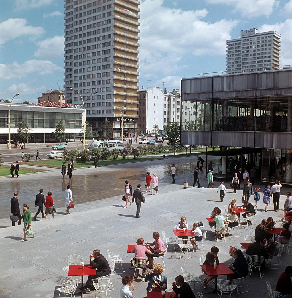 Проспект Калинина, 1969 год