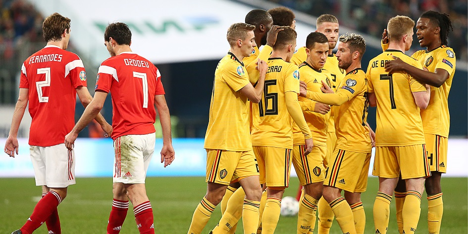 Футбол англия бельгия 19