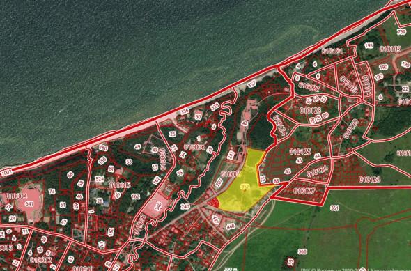 Фото: Скриншот кадастровой карты