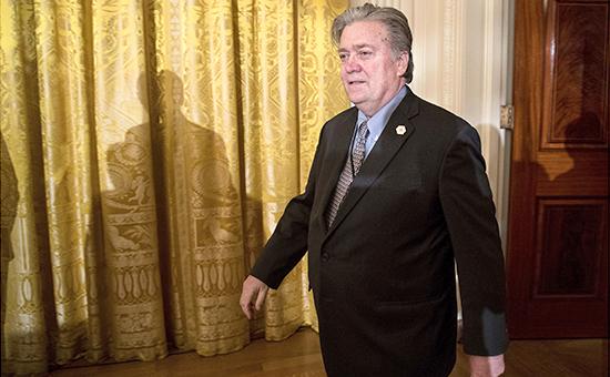 Советник президента США Стивен Бэннон