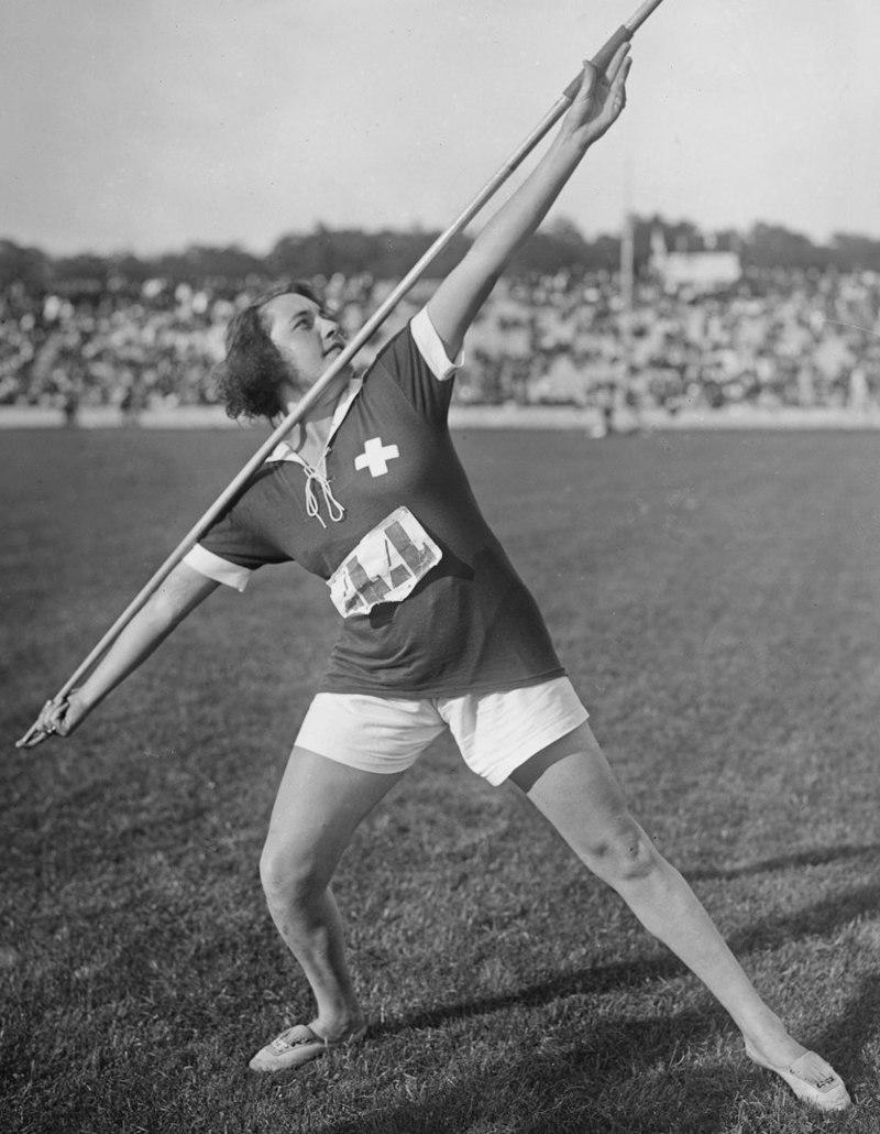 Атлетка Франческа Пензола на играх в Монте-Карло