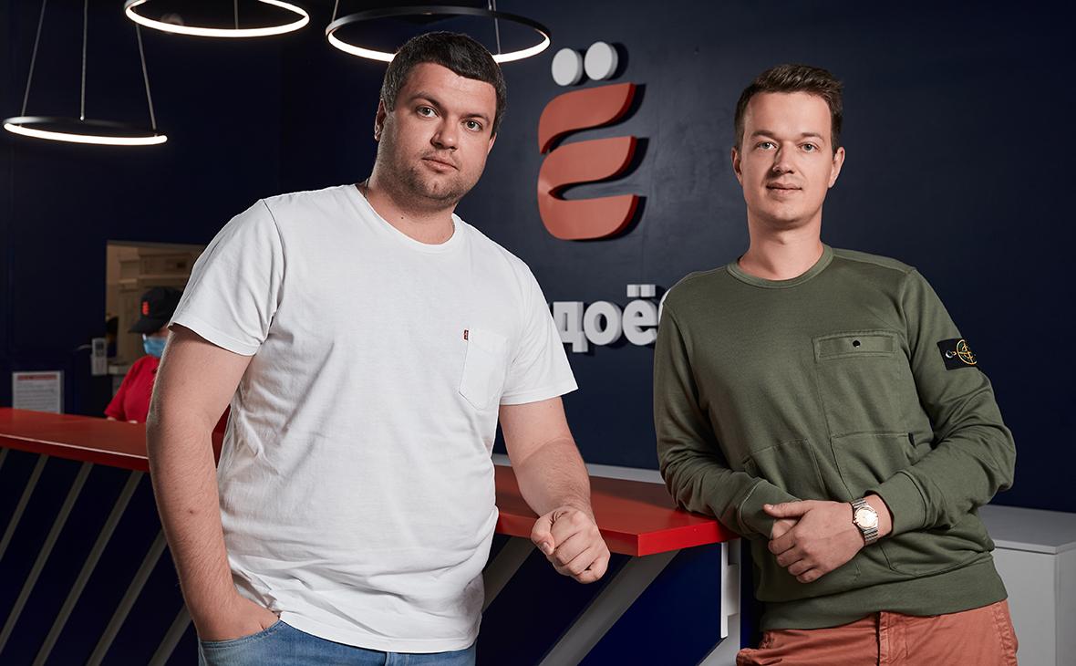 Константин Зимен и Дмитрий Прадед