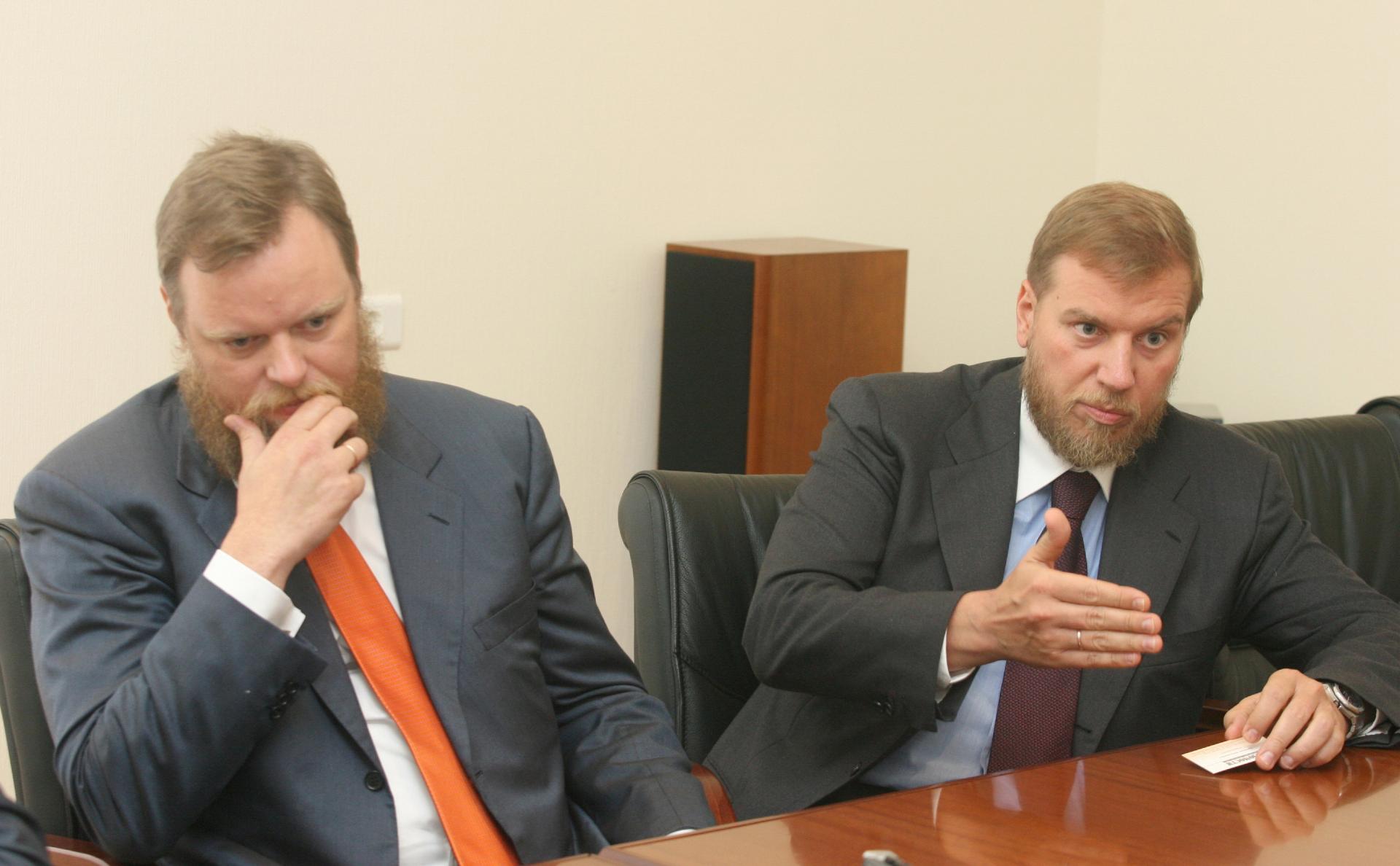 Дмитрий (слева)и Алексей Ананьевы