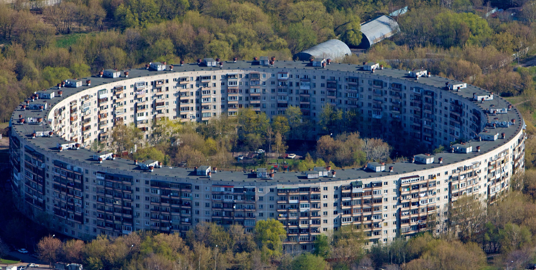 Круглый дом в Москве