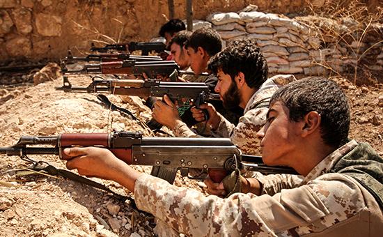 Сирийские солдаты. Архивное фото