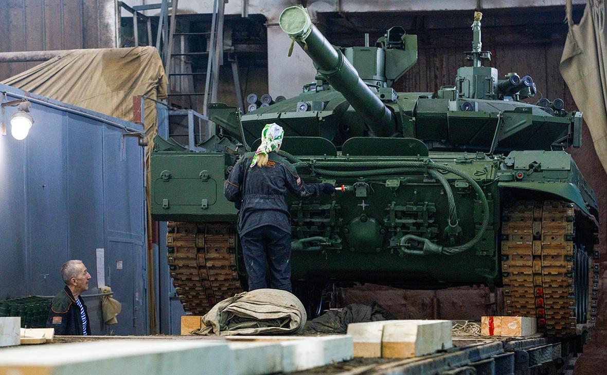 танк Т-90М «Прорыв»