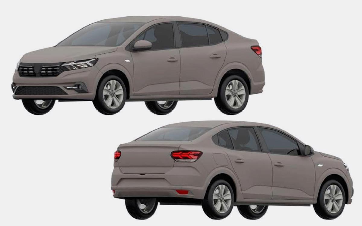 <p>На изображениях показаны автомобили в европейской версии с треугольным местом под шильдик Dacia.</p>