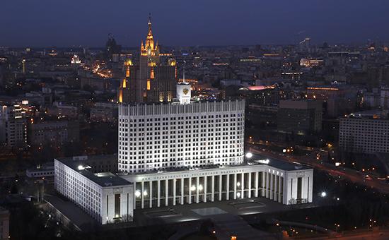 Москва. Дом правительства РФ