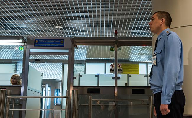 Паспортный контроль ваэропорту
