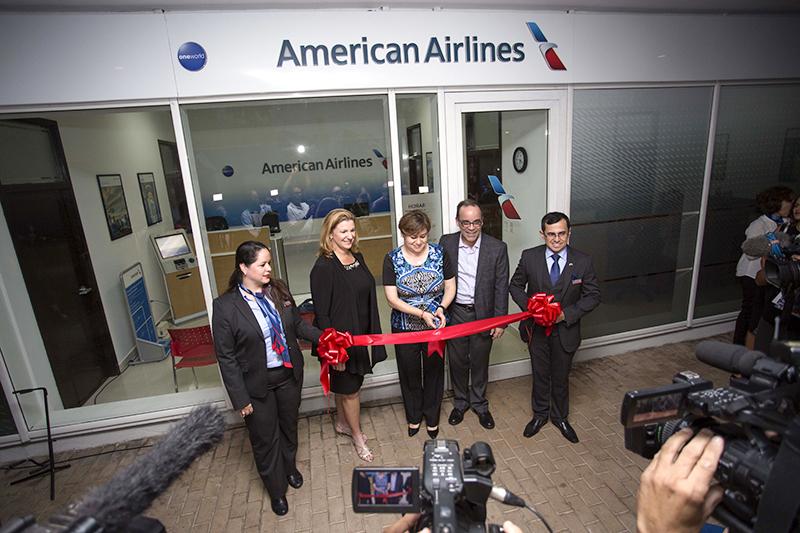 Открытие первого коммерческого офиса American Airlines наКубе