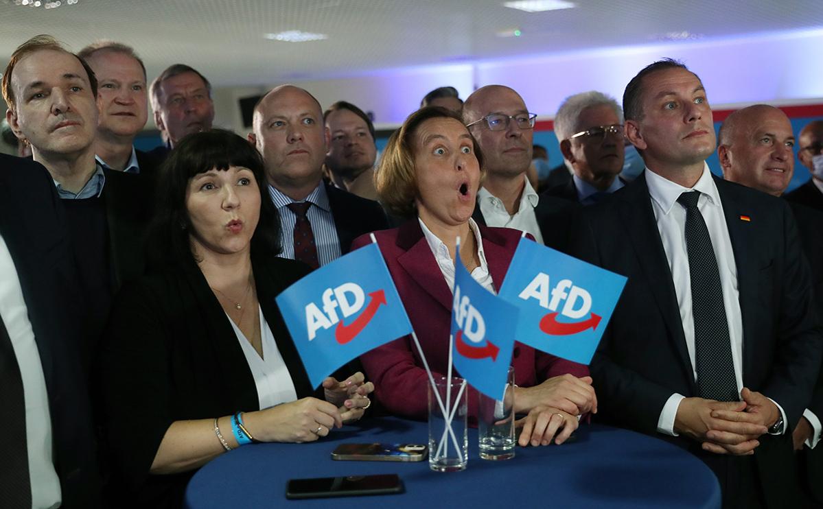 Члены партии «Альтернатива для Германии»