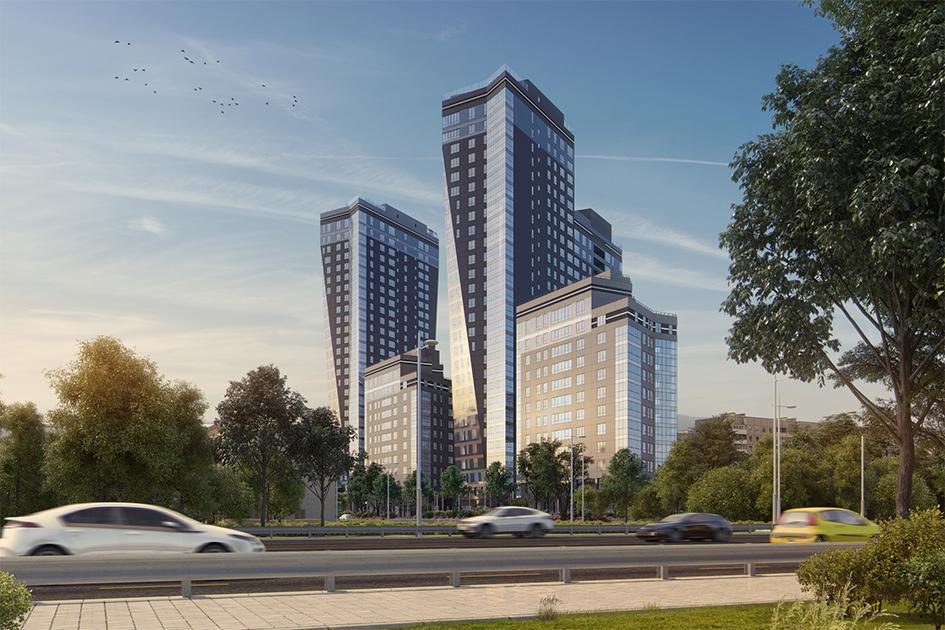Особая отметка жюри вноминации «Лучшая архитектура высотного жилого строительства»: жилой комплекс «Дыхание»  Девелопер: ФСК «Лидер»