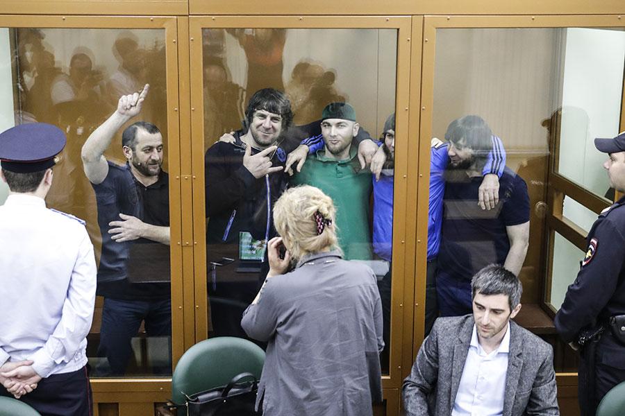 Обсуждение в Московском военном окружном суде вердикта присяжных по делу об убийстве политика Бориса Немцова