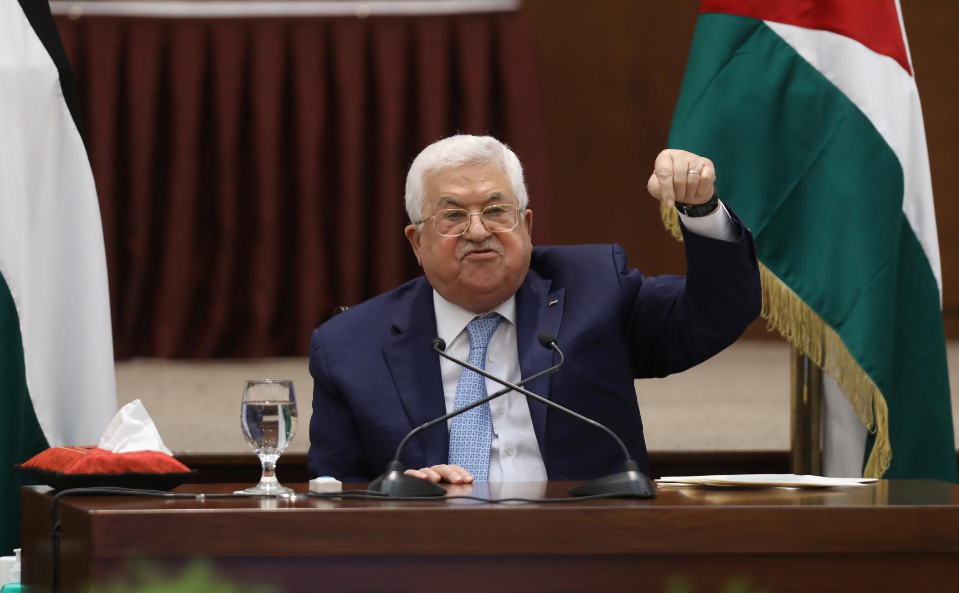 Президент Палестины объявил о выходе из всех соглашений с США и Израилем ::  Политика :: РБК