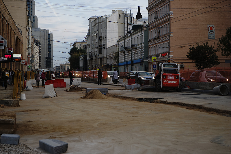 Сроки завершения благоустройства большинства улиц срываются