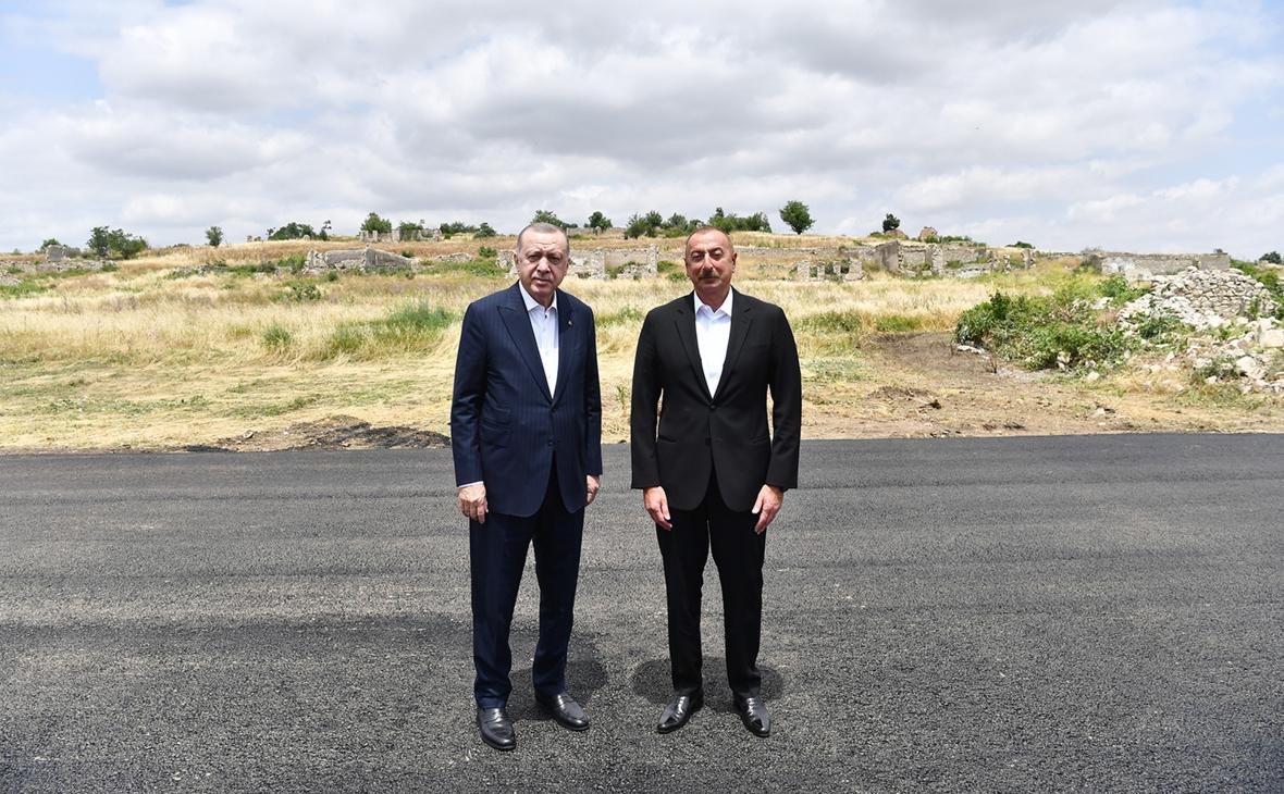Реджеп Эрдоган и Ильхам Алиев