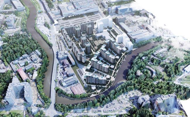 Проект жилого комплекса в Санкт-Петербурге