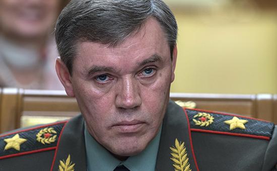 Начальник Генштаба Вооруженных сил РФ - первый замминистра обороны, генерал армии Валерий Герасимов