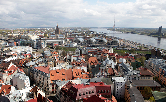 Вид наРигу, Латвия
