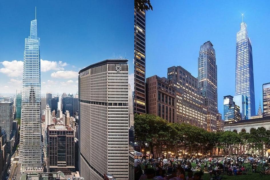 Для возведения One Vanderbilt девелопер SL Green взял кредит на$1,5 млрд, пишет нью-йоркское издание New York Curbed. Здание должно быть готово в2020 году