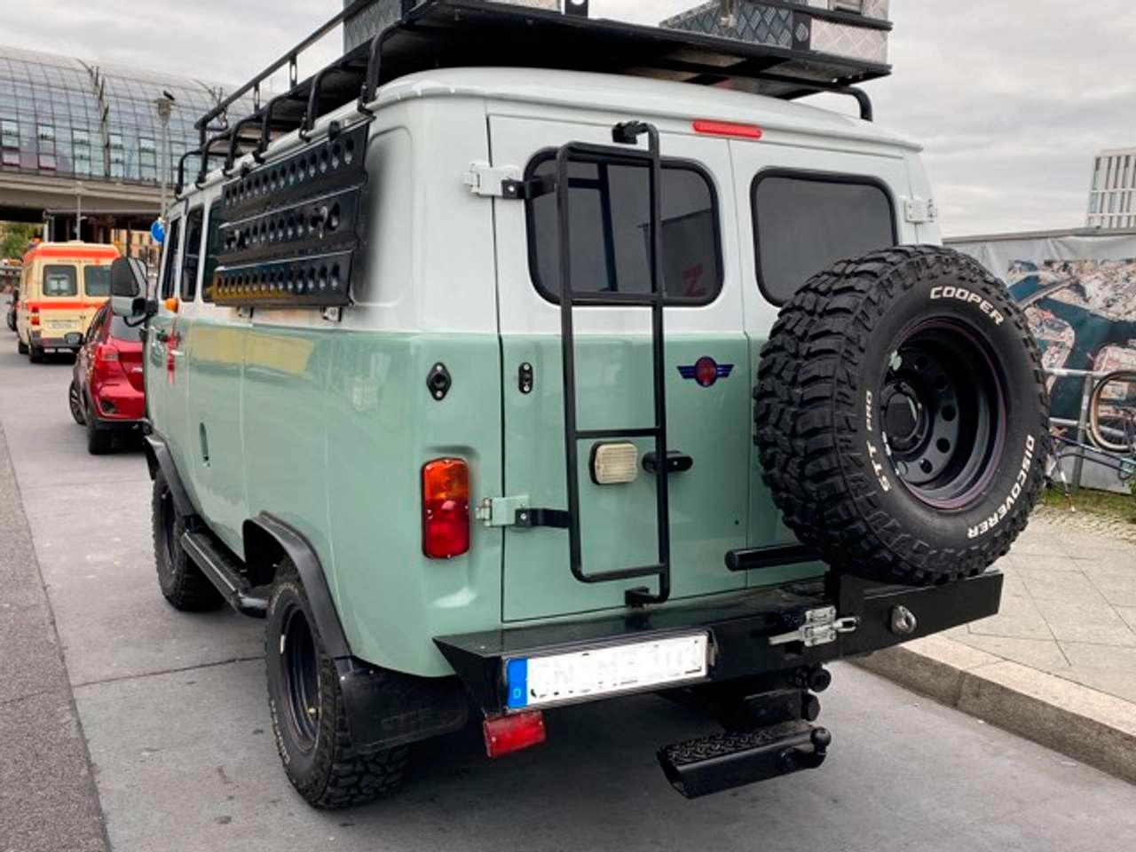 Модернизированный УАЗ-452