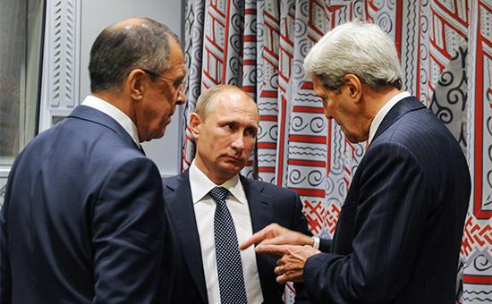 Кремль опроверг ультиматум Путина о судьбе Асада на переговорах с Керри