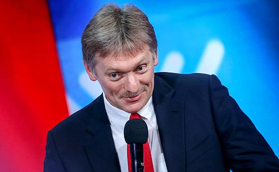 Пресс-секретарь президента Владимира Путина Дмитрий Песков