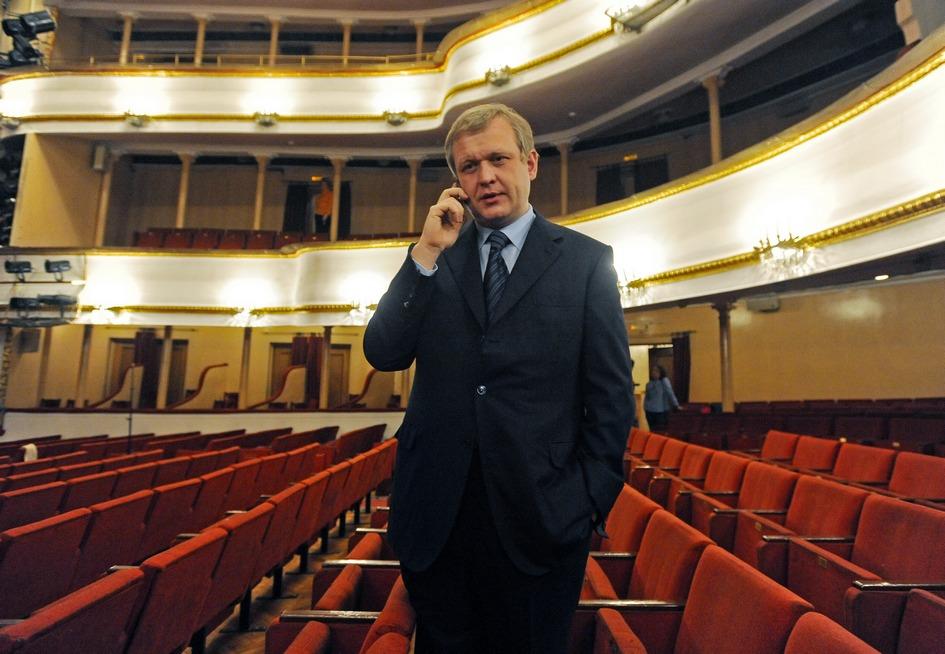 Сергей Капков в Московском академическом театре имени Владимира Маяковского. 2012 год