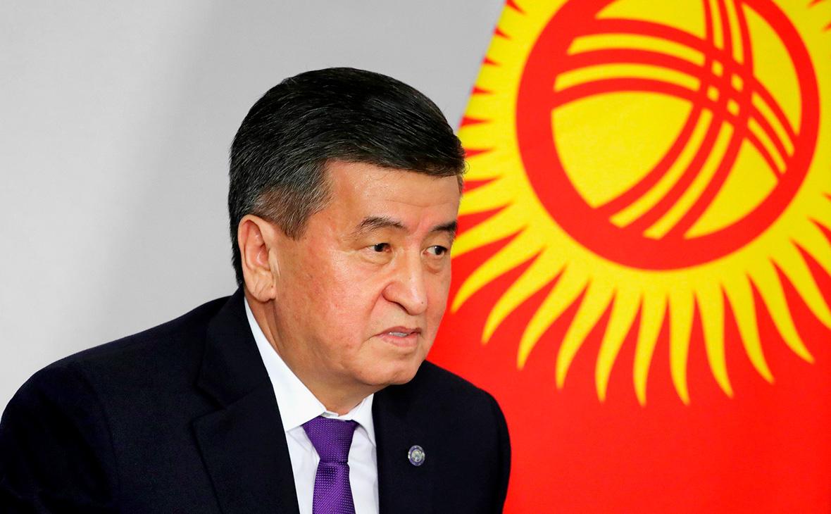 Сооронбай Жээнбеков