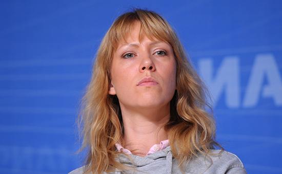 Кандидат в депутаты Госдумы РФ Мария Баронова