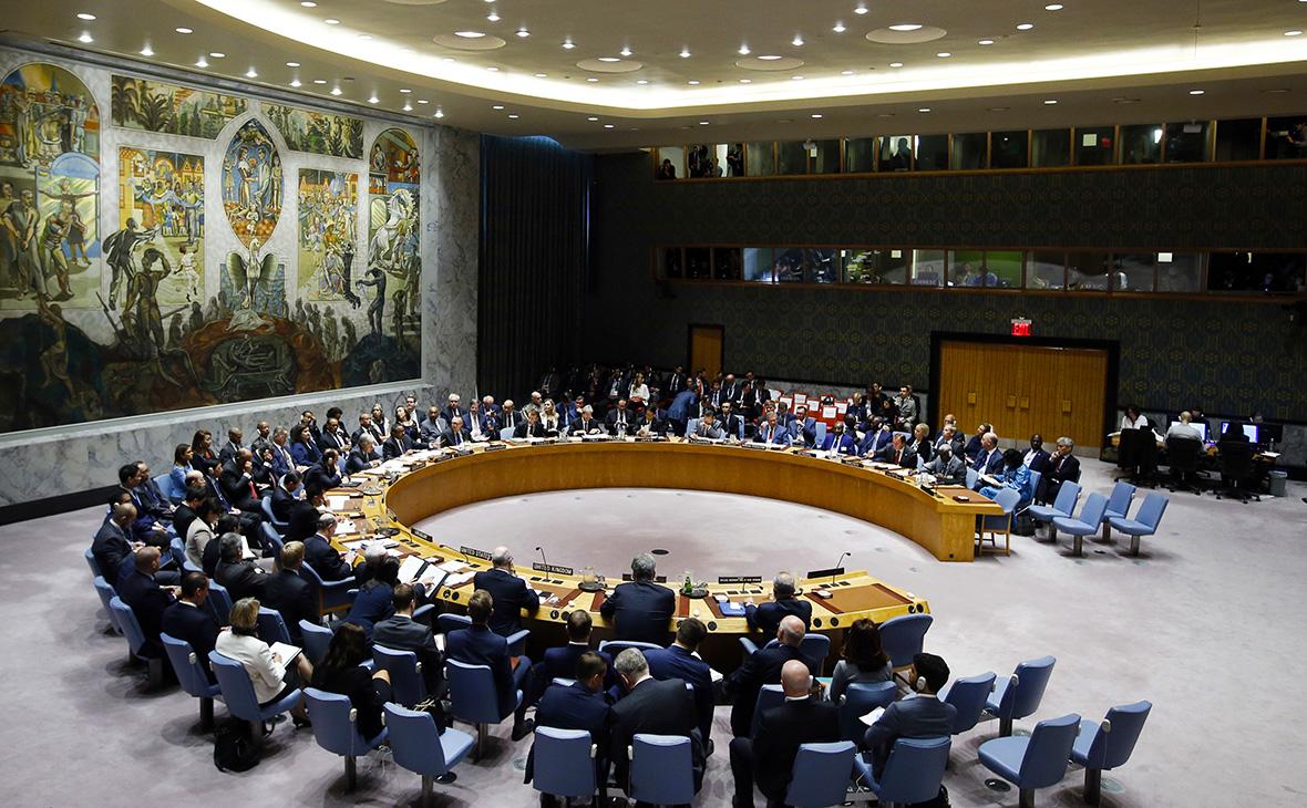 ЗаседаниеСовебеза ООН