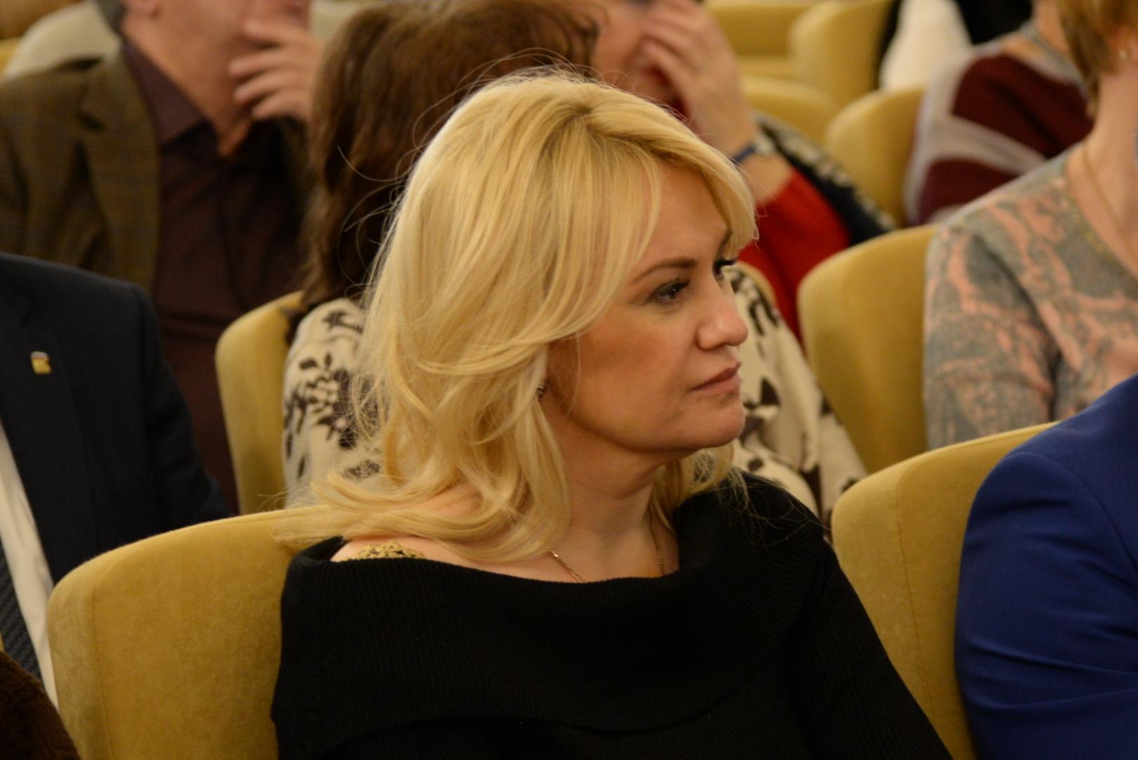 Первый заместитель главы администрации Петроградского района Марина Лыбанева (Макарова)