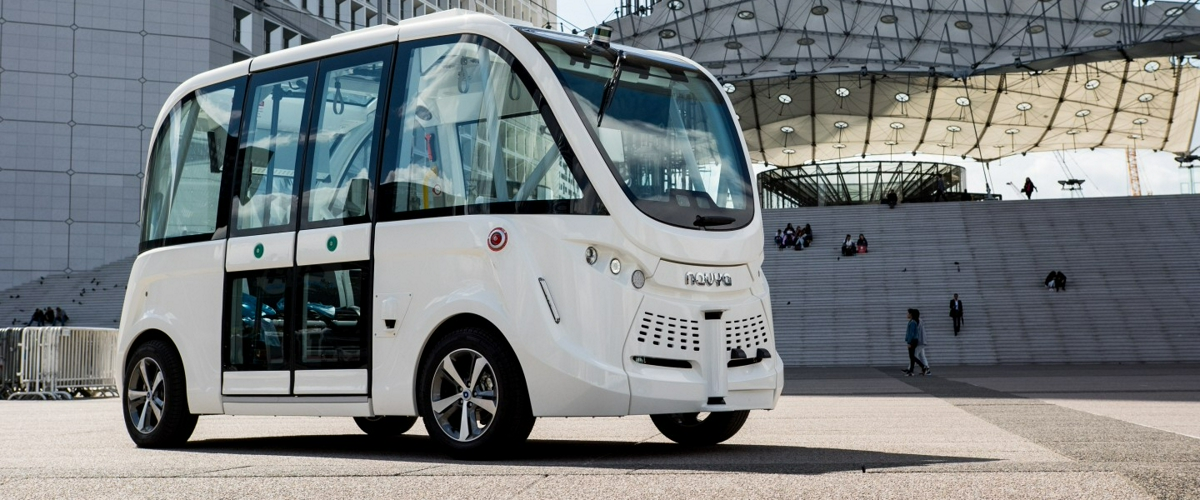 Автономный автобус проекта FABULOS