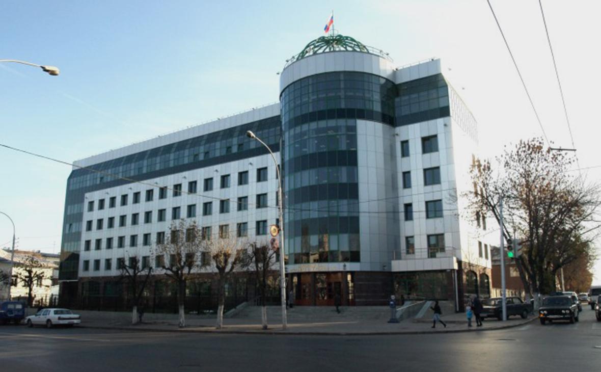 Здание верховного суда Башкирии