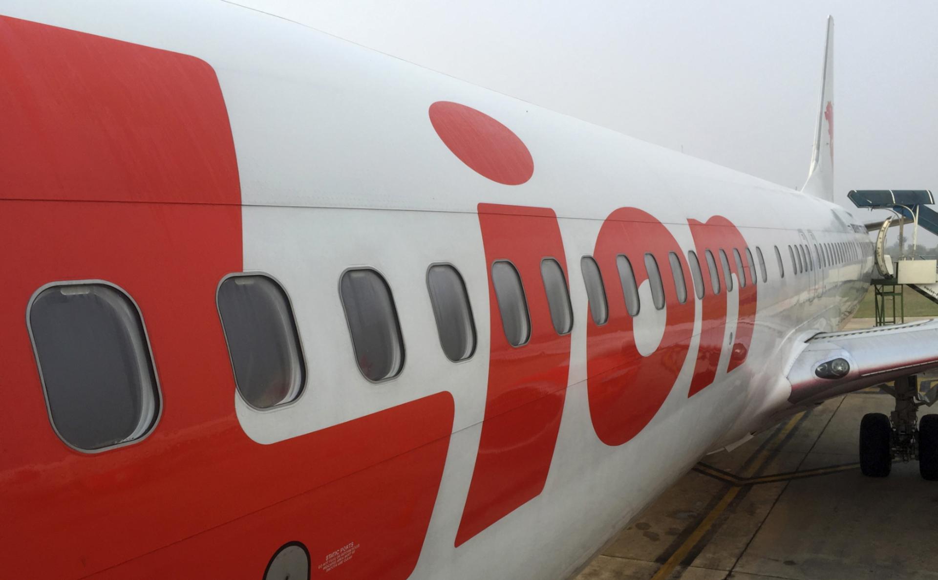 Самолет авиакомпании Lion Air