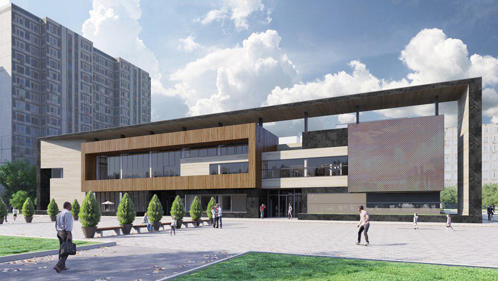 Проект районного центра в Строгино