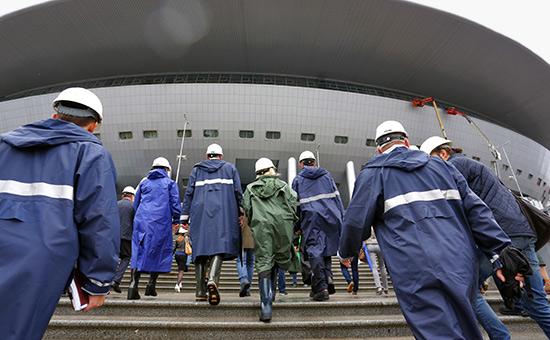 Строительство стадиона «Зенит Арена»