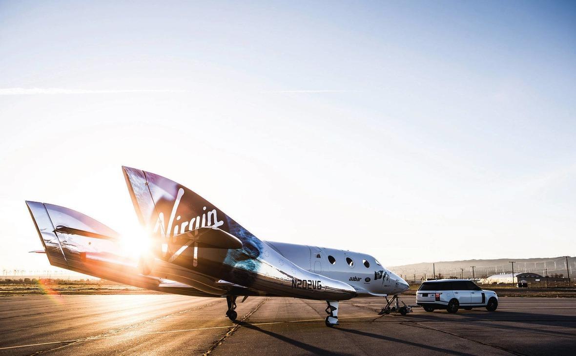 SpaceShip Two –пилотируемый суборбитальный космический корабль многоразового использования компании Virgin Galactic