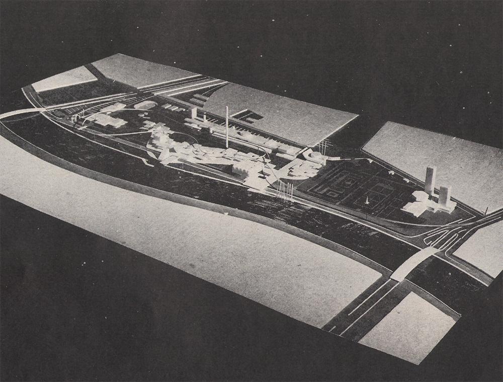 На территории Москва-Сити изначально планировалось сделать выставочный центр