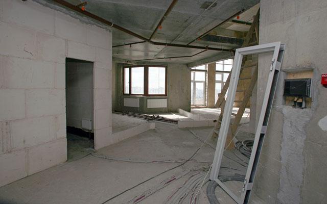 Квартира в новостройке без отделки