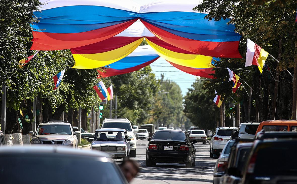 ВидЦхинвала в Южной Осетии