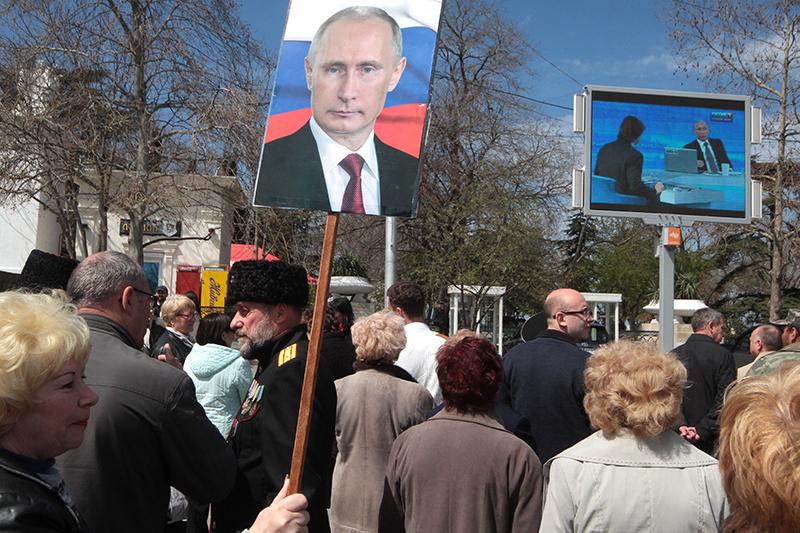 Трансляция «Прямой линии»  в Севастополе
