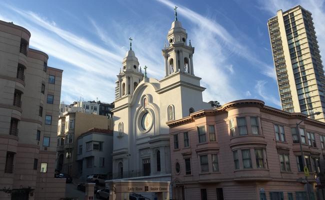Церковь Девы Гваделупской вСан-Франциско