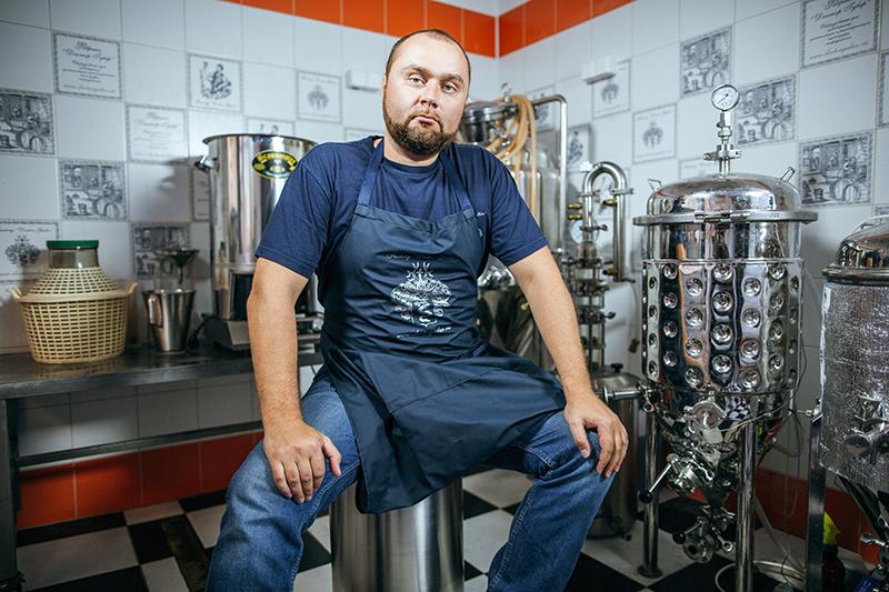 Основатель компании по производству самогонных систем, пивоварен и сыроварен «Доктор Губер» Никита Малыхин